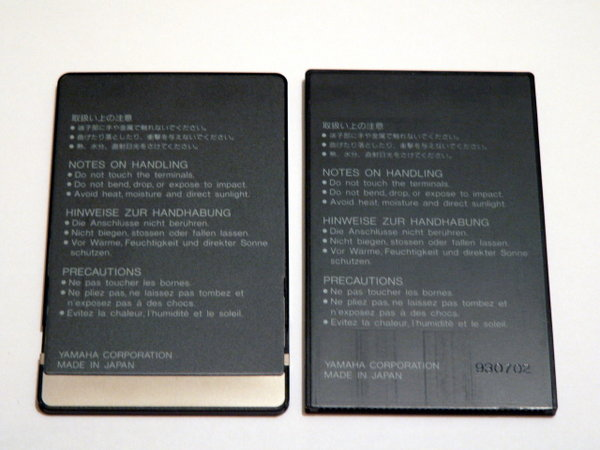 Yamaha SY85 / TG500 Card Sets - YamahaMusicians com