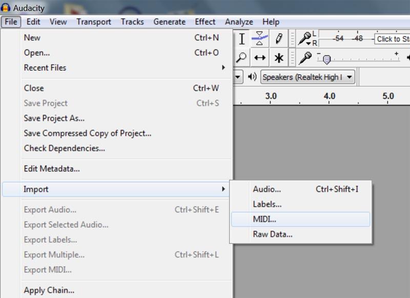 Audacity Audio Interface Compatibility