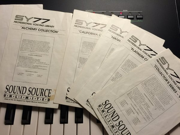 Convert SY77 floppies to USB stick - YamahaMusicians com