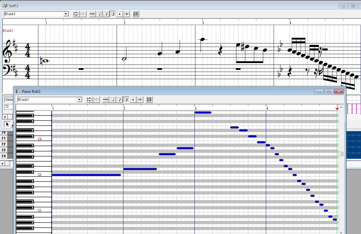 Create MIDI from a score tutorial + parts 2, 3 & 4