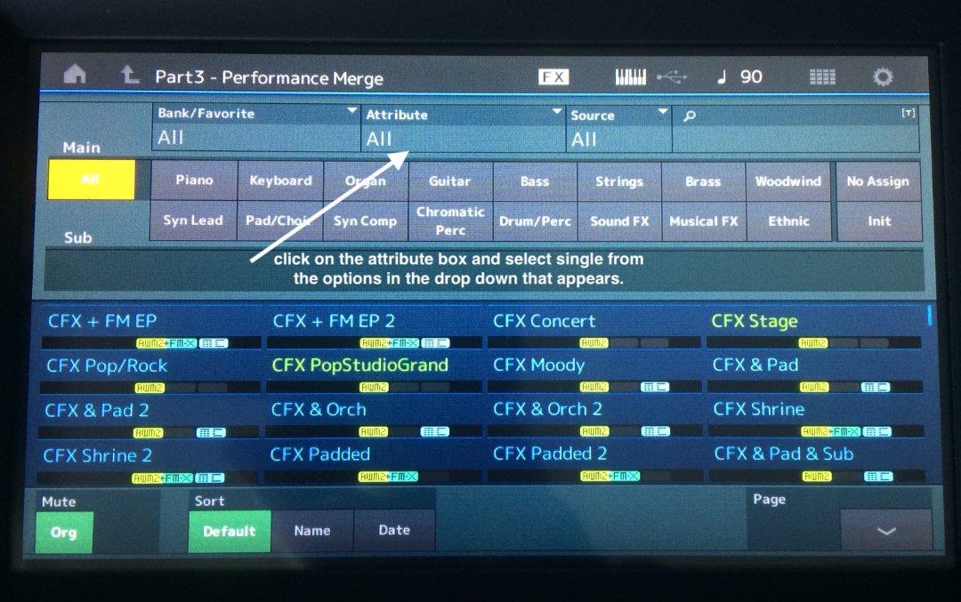 MODX Firmware update - YamahaMusicians com