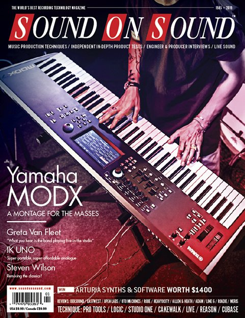 Sound On Sound MODX Review - YamahaMusicians com