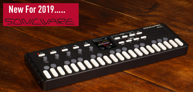 Sonicware ELZ 1 Portable 8 Synth Engine Digital Synthesiser