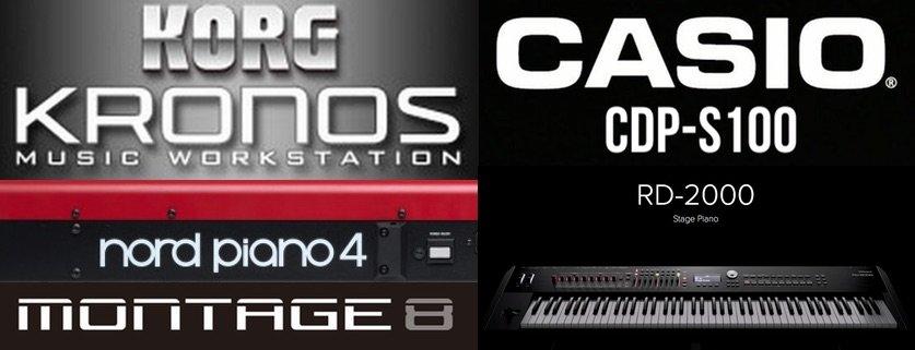 CASIO CDP-S100 beats KORG, Roland and Yamaha