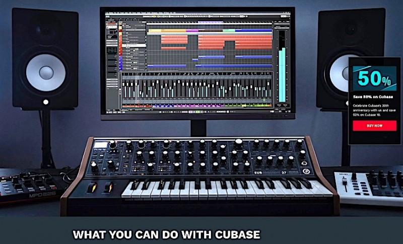 Cubase at 50% discount! - YamahaMusicians com