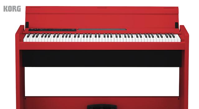 KORG LP380 RED