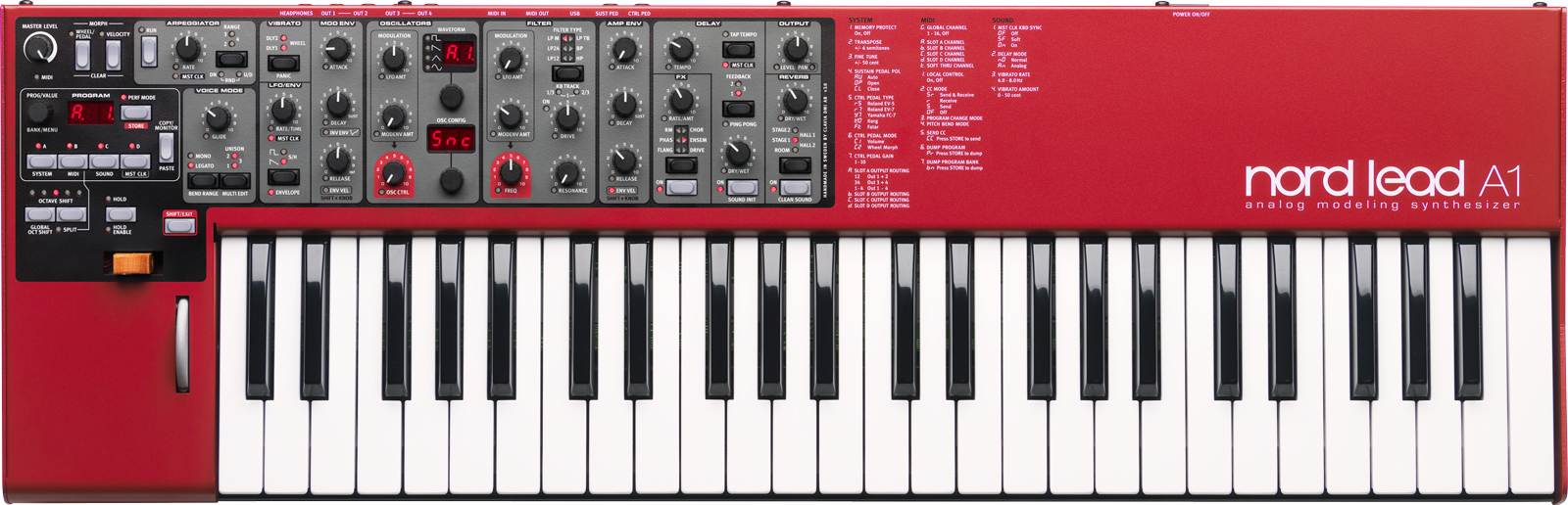 Nord Lead A1 NAMM 2014