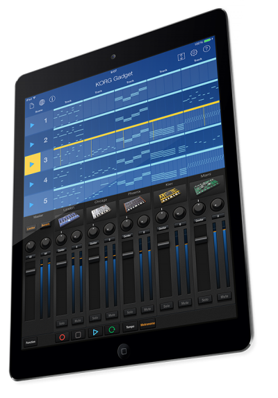 Korg Gadget For iPad Next Update Announcement