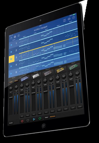 Korg Gadget For iPad Next Update Announcement