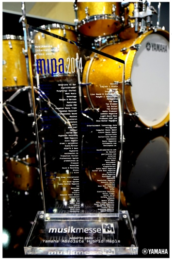 Yamaha Hybrid Maple MIPA Awards