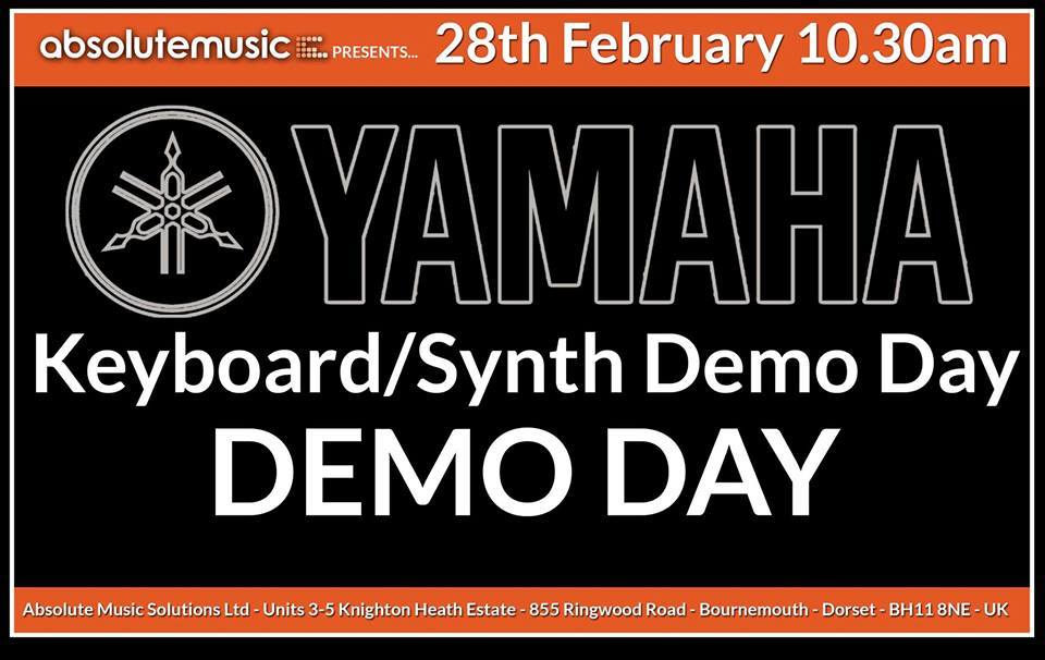 yamaha synth demo day