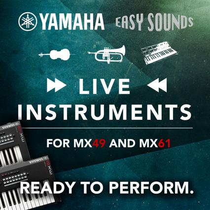 Get free sounds for the Yamaha MX – yamahamusicians com