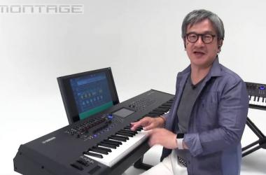 Katsunori UJIIE With Yamaha Montage