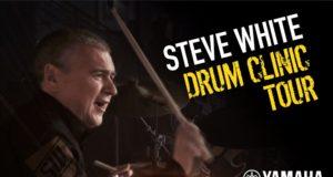 Steve White Yamaha Drum Clinic Tour