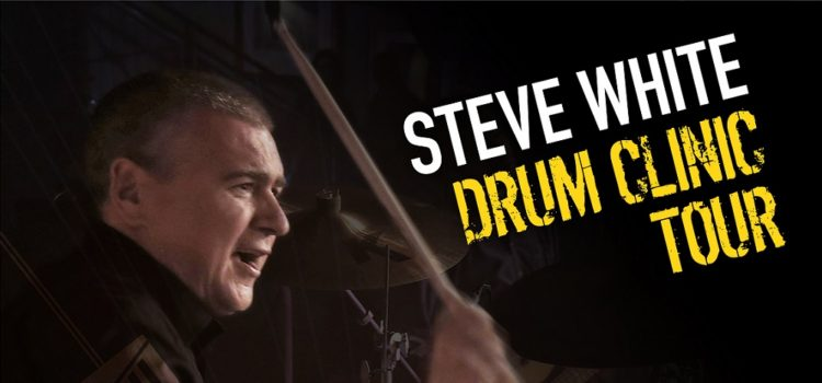 Steve White Yamaha Drum Clinic Tour