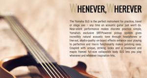 Yamaha SLG200 Silent Guitar