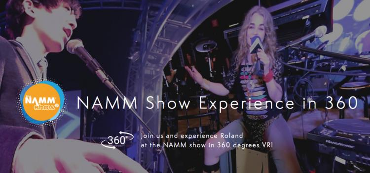 Roland 360 Event NAMM 2017