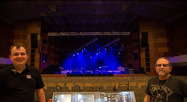 Yamaha Rivage PM10 Alan Parsons Tour