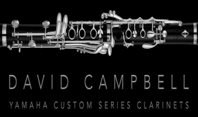 David Campbell & Yamaha Custom Series Clarinets
