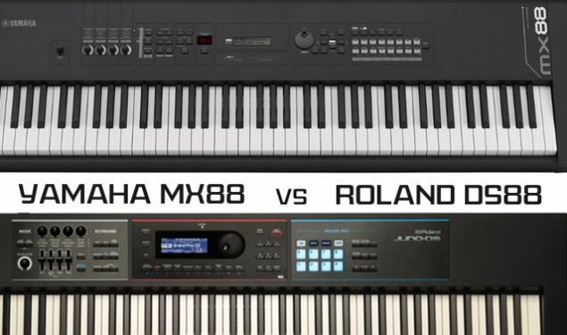 Yamaha MX88 vs Roland Juno DS88 – Which Comes Out On Top?