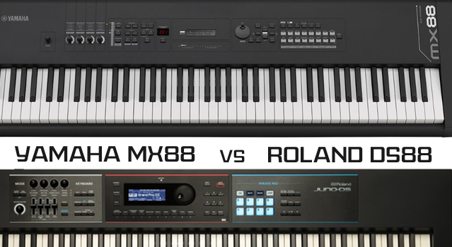 Yamaha Mx88 Vs Roland Juno Ds88 Which Comes Out On Top Yamahamusicians Com