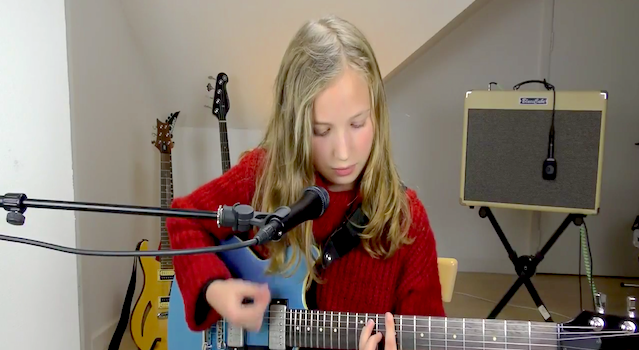 Filippa Q With Yamaha Revstar RS420