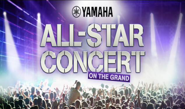 Yamaha Turns It Up to Eleven with 'All-Star Concert on the Grand' Extravaganza Slated for 2018 NAMM Show