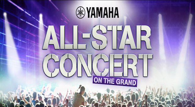 Yamaha All Star Concert NAMM 2018