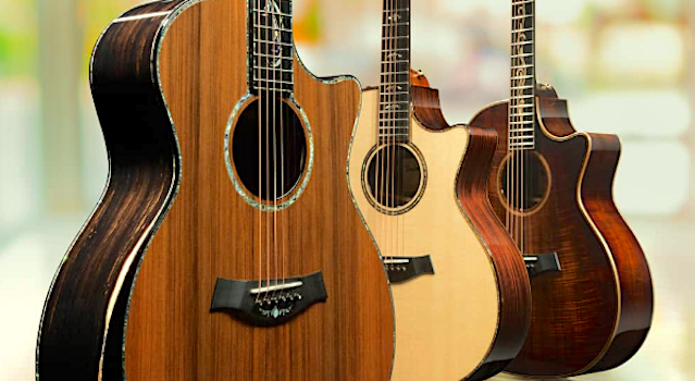 Taylor V Bracing Acoustic Guitar