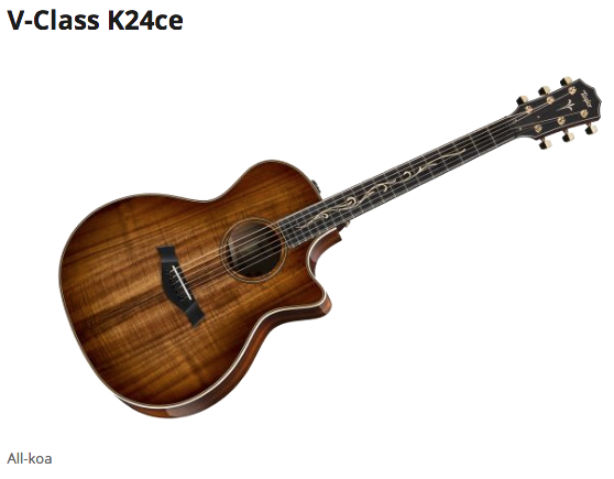Taylor V-Class K24ce