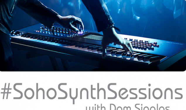 More Soho Synth Sessions with Dom Sigalas at Yamaha Music London