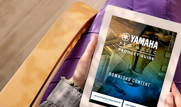 Yamaha Releases New Pro Music Product Guide App