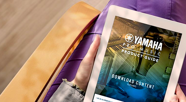 Yamaha Pro Music Product Guide
