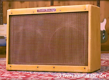 Joe Bonamassa Teams Up With Fender®, Releases Fender '59 Twin-Amp™ Re-Issue