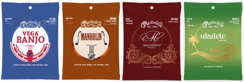Martin Premium Banjo & Mandolin Strings