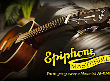 Win a Epiphone Masterbilt® 2015 AJ-45ME Acoustic/Electric Guitar