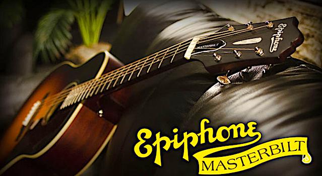 Win a Epiphone Masterbilt® 2015 AJ-45ME Acoustic/Electric