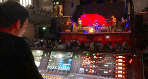 Johnny Wharton mixes Mali Hayes on the RIVAGE PM7