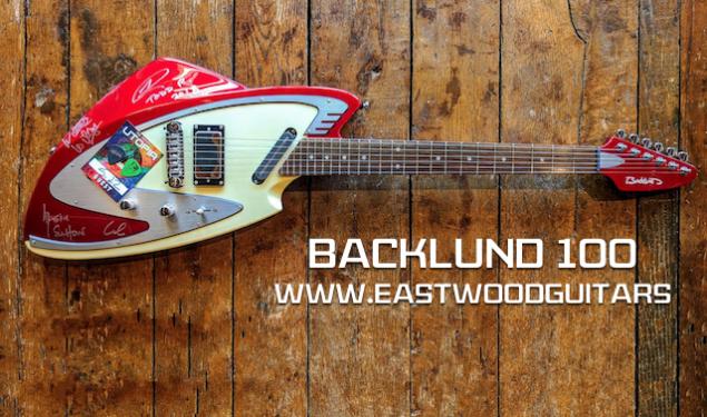 Win Todd Rundgren's Backlund 100 Utopia Tour Guitar