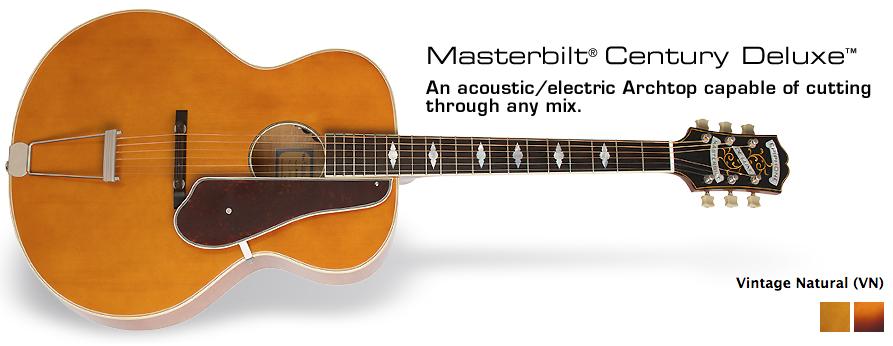 Epiphone Masterbilt Century Deluxe
