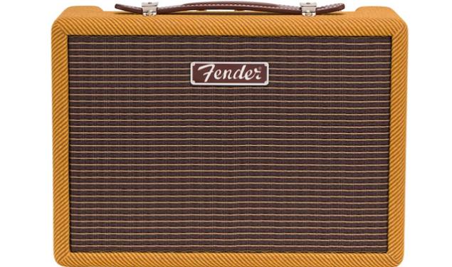 Fender's New Tweed Monterey Bluetooth Speaker