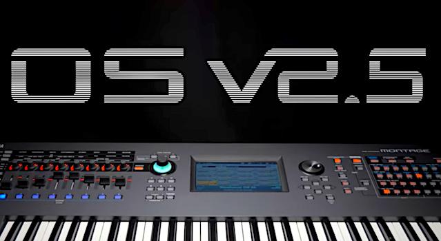 Yamaha Montage OS V2.5