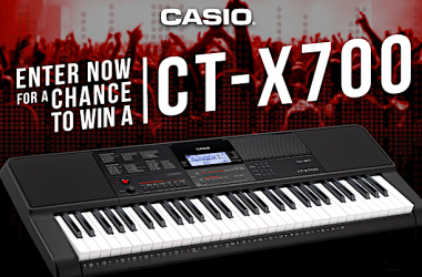 Win A Casio CT-X700