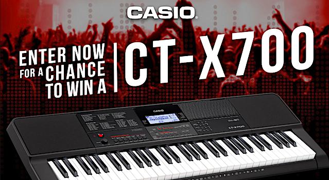 Win A Casio CT-X700