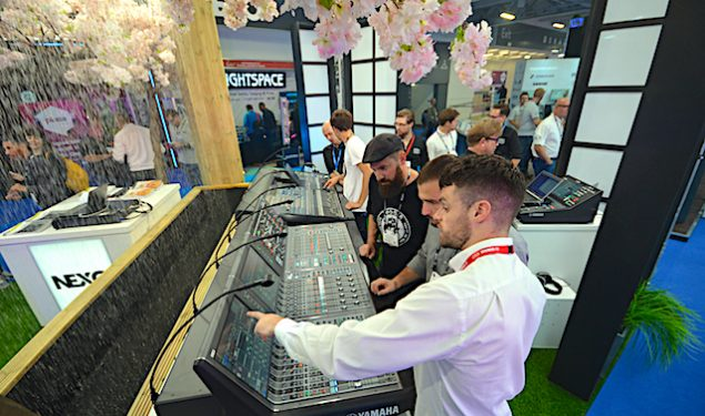 Yamaha and Nexo At PLASA London