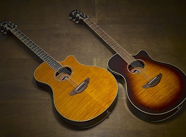 Yamaha APX600 Now Available With Flame Maple Top And Two New Finishes