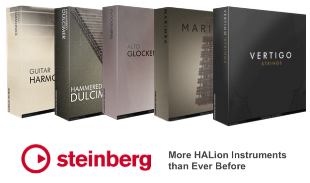 Cinematique Instruments first to provide libraries through Steinberg's newly introduced HALion Partner Program
