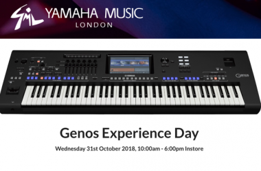 Yamaha Music London Genos Experience Day