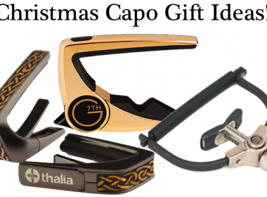 Christmas Gift Ideas – Our Top 3 Capos For The Guitarist In Your Life