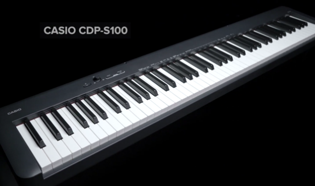 The New Casio CDP-S100 – Redefining The World Of Portable Pianos